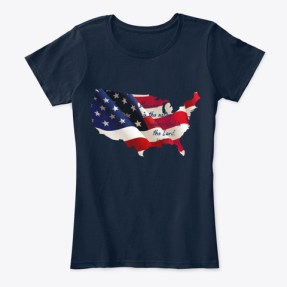 Patriotic Collection New Navy T-Shirt Front