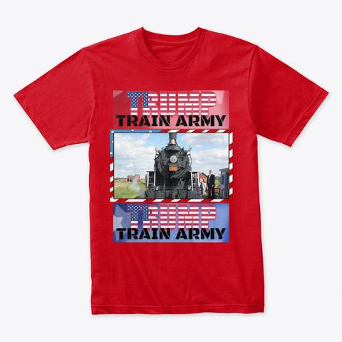Tta Tee Red Camiseta Front