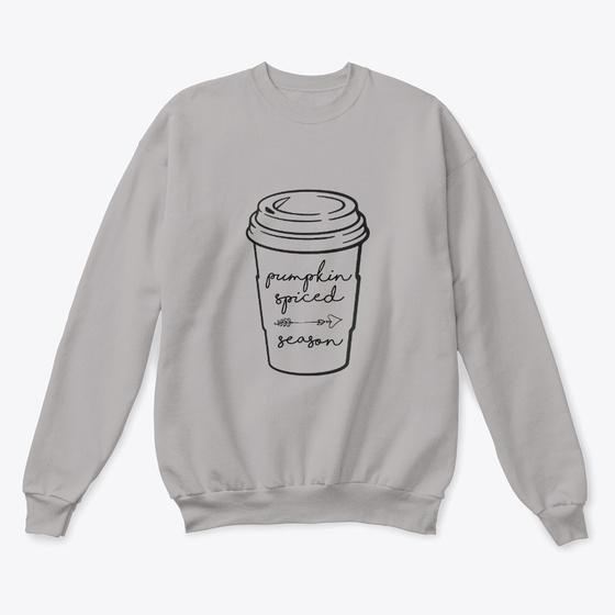 Pumpkin Spiced Season Sweater (Light)