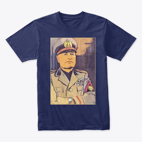 Benito M. Midnight Navy T-Shirt Front