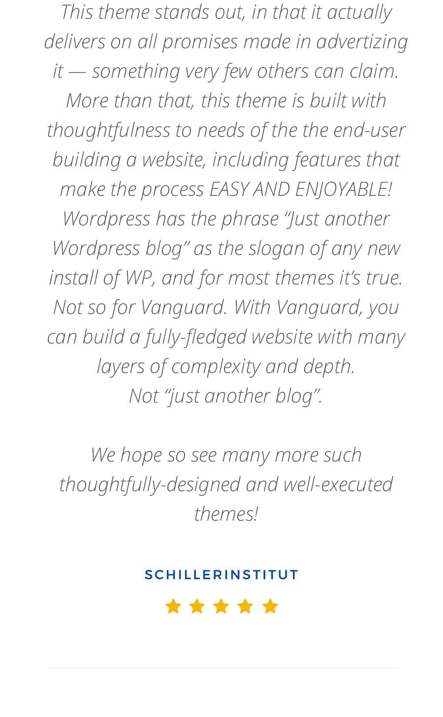 Vanguard: Business & Portfolio WordPress Theme - 17