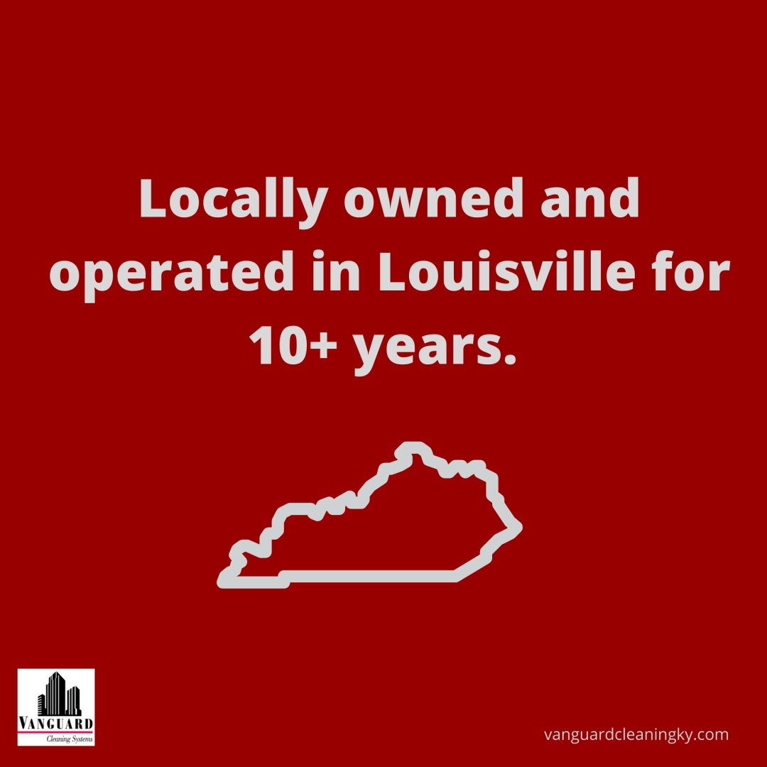 Locally owned and operated in Louisville for 10+ years.