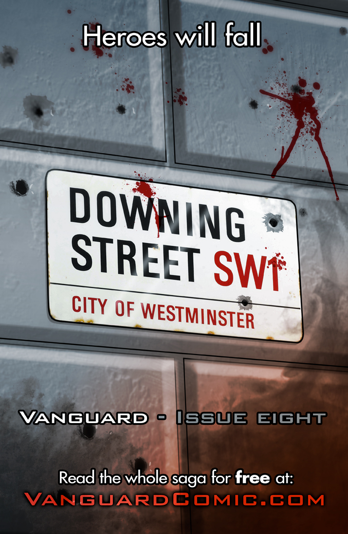 Vanguard Issue Eight Promo