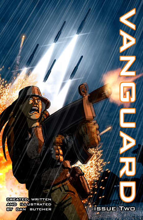 Vanguard issue two cover