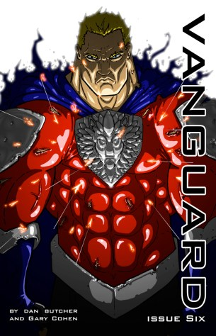 Vanguard issue six cover