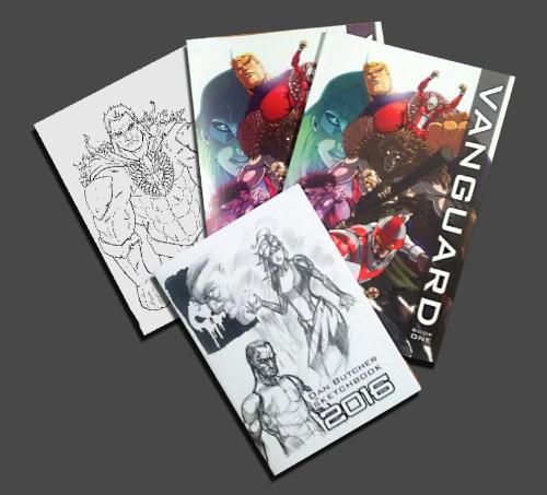 Big Cartel Vanguard Comic