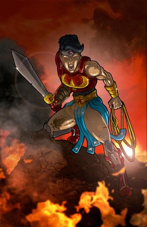 Wonder Woman commisson LSCC