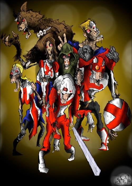 vanguard comic zombies