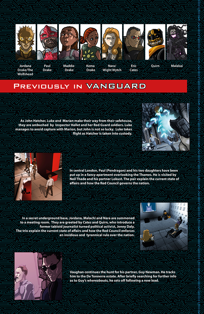 Previously in VANGUARD (1 of 2)