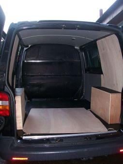 Standard black T5 straight from VW
