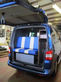 Vw T5 rear storage and table storage mounts