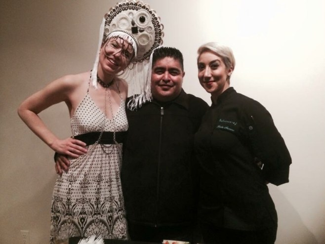 Chefs Mario Media & Karla Navarro