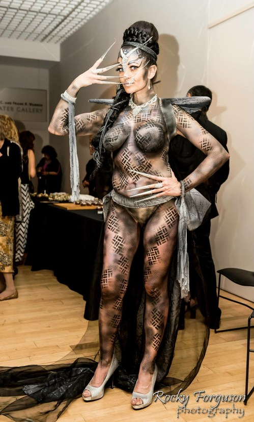 Veteran Couture Body Paint