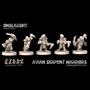 Avian Serpent Warrirors