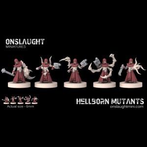 Hellborn Mutants