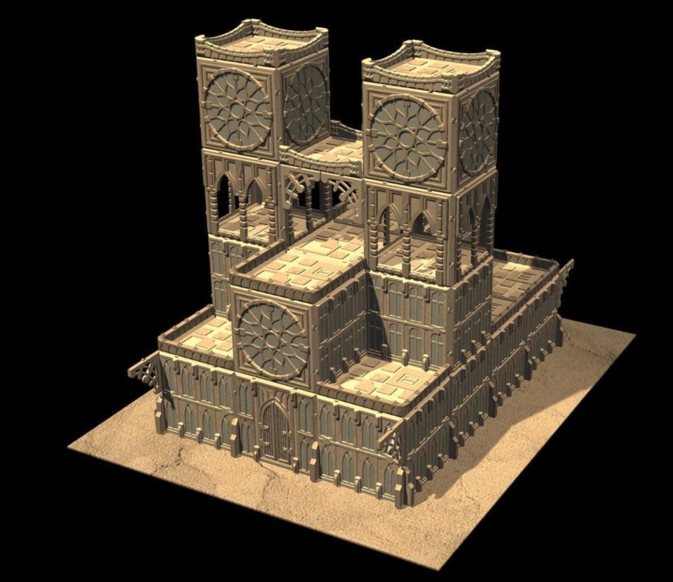 Adeptus Titanicus-model and terrain options - Forum - DakkaDakka