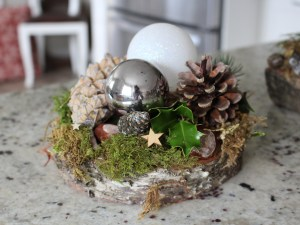 Medium Christmas Platter Centrepiece