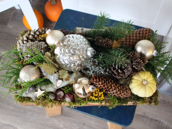 Walk in The Forest Christmas Arrangement