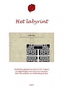 Omslag historische novelle 'Het labyrint''. Klik op het plaatje om te vergroten (bvhh.nu 2007).