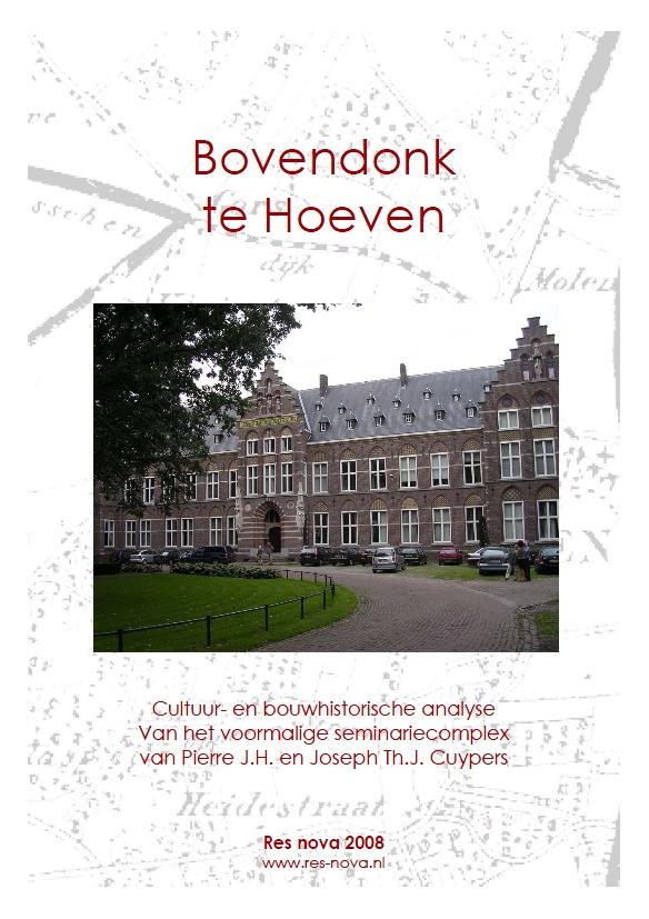 Omslag CBA Bovendonk Hoeven 2008