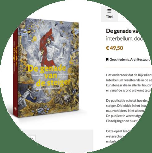 Misschien kun je dit werk nog bestellen via de boekhandel. Bij uitgeverij De Walburgpers is 'De genade van de steiger' uitverkocht!