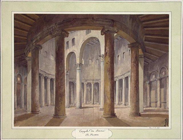 Cyclus Rome: Charles-Louis Clérisseau (1721–1820), Stefano Rotondo, 1750-1755.