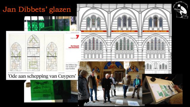 Samenvatting 'De nieuwe Bavo te Haarlem' | Jan Dibbets