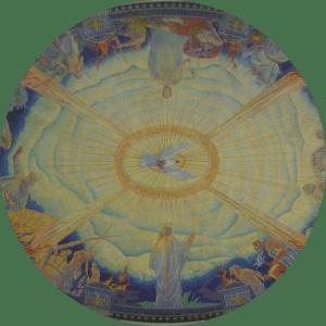 'De heilige Geest' van Huib Luns uit: F.R. Hazenberg, Landgoed Hageveld, Heemstede (2012).