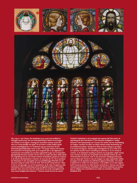 Jan Toorop en het Apostelraam uit 'De genade van de steiger', p. 275. Klik op het plaatje om te vergroten!