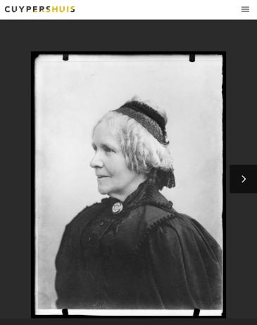 Antoinette Catherine Therese Cuypers Alberdingk Thijm op gevorderde leeftijd. Screenshot beeldbank Cuypershuis, bvhh.nu 2019.