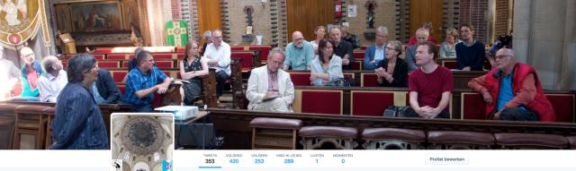 Screenshot Twitteraccount @Kerkverhalen