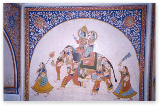 Fresco from Shekhawati
