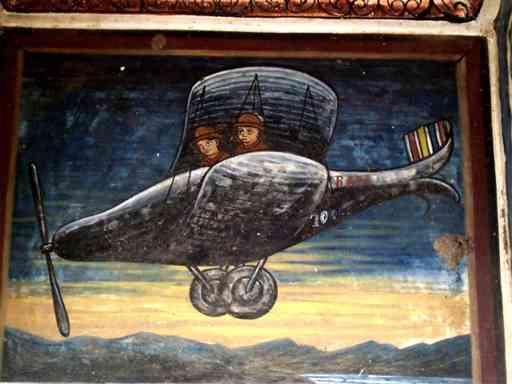 Amusing Fresco from Shekhawati