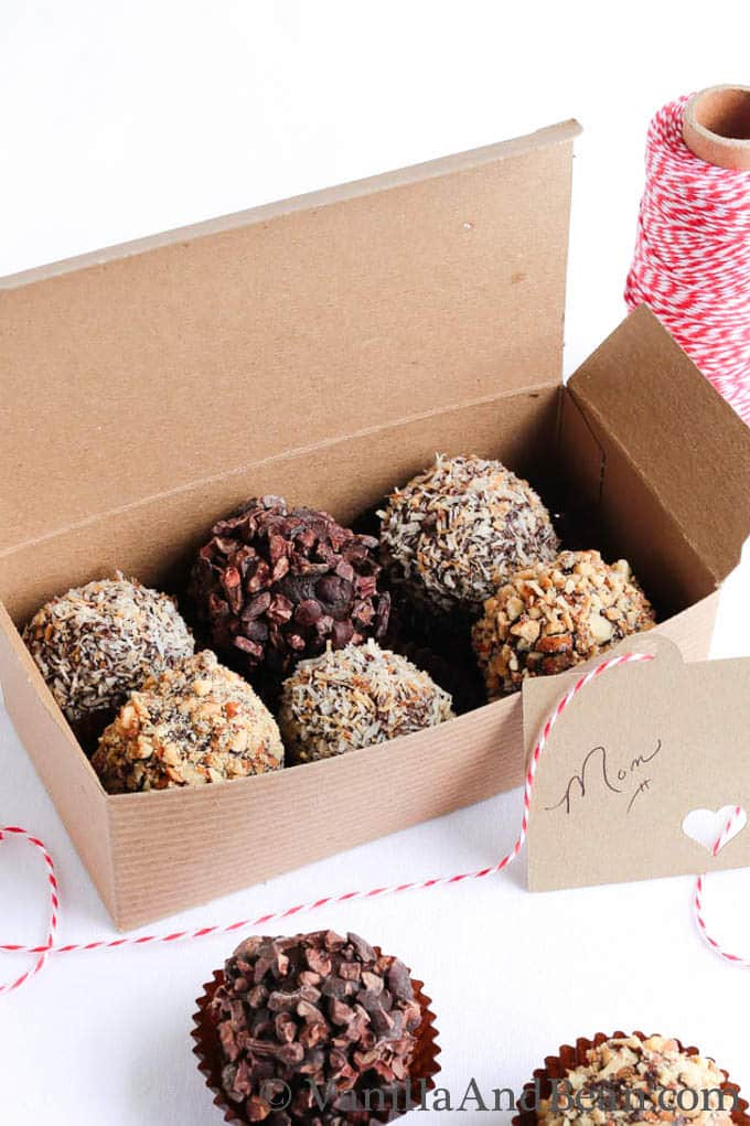 Bon Bon Candy Recipe - perfect food gift box for a loved one