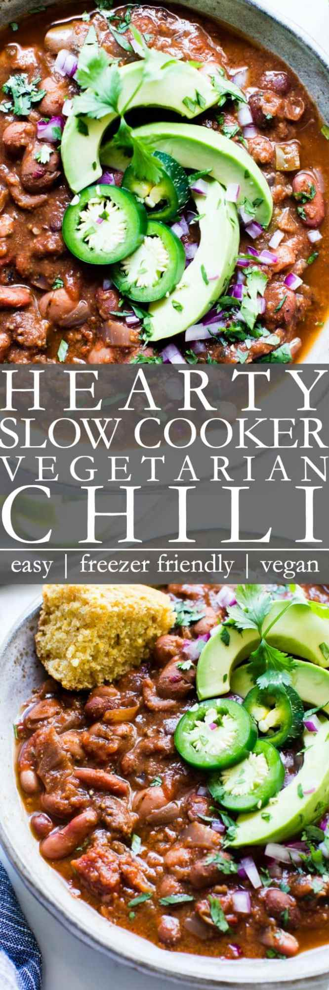 Vegan Chili Slow Cooker