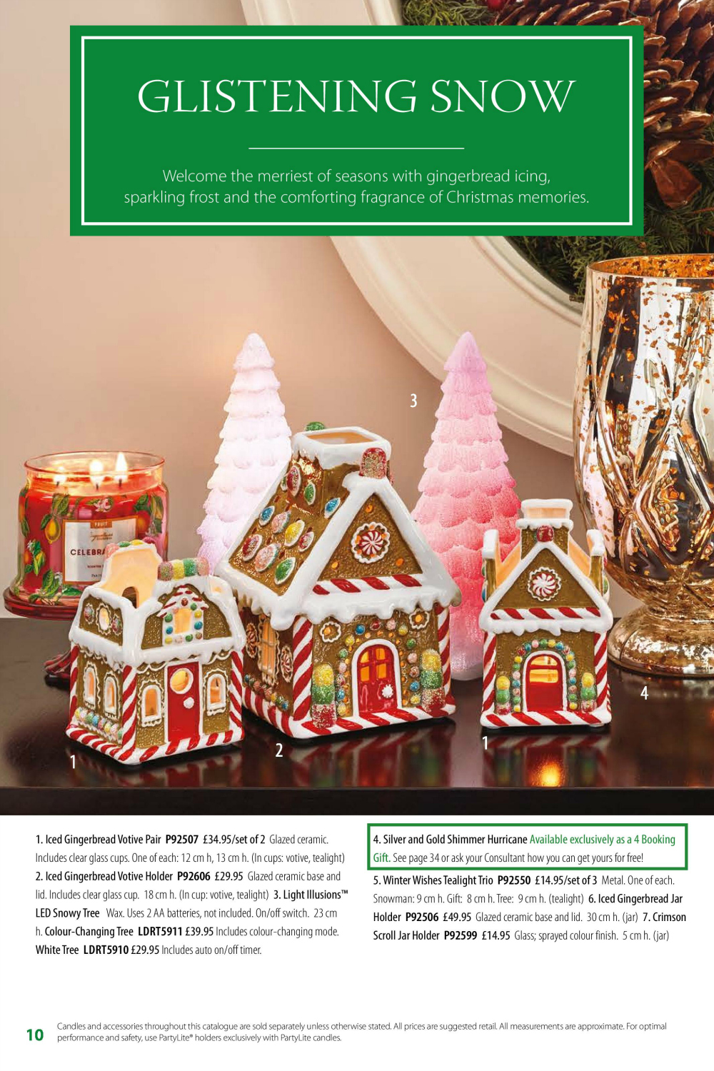 PartyLite Christmas Catalogue Vanilla Amp Lime