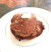 Pancake pat of butter