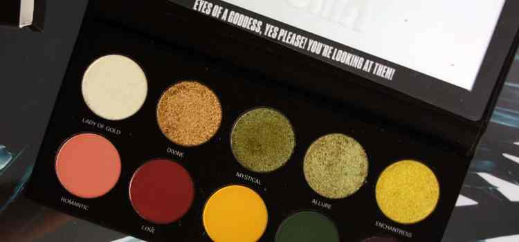 UOMA Beauty : Palette Black Magic Allure