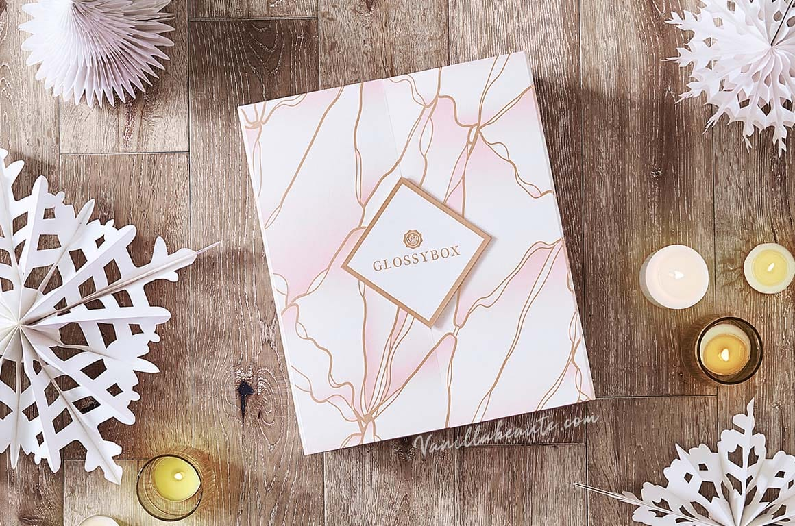 calendrier avent 2020 glossybox