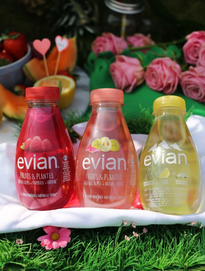 New evian Fruits & Plantes – The perfect spring day