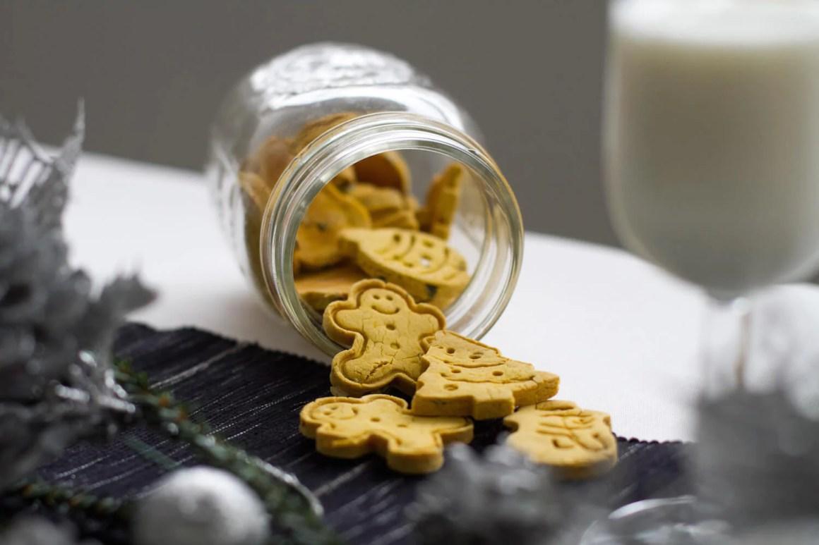 Furrific Christmas Pumpkin Seed Cookies | Vanillapup