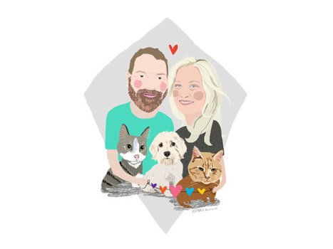 Personalised Family Portraits - MsSpanner