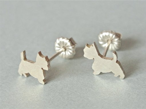 Perfect Gifts for Westie Lovers - Earrings | Vanillapup
