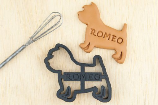 Perfect Gifts for Westie Lovers - Name That Cookie Cutter | Vanillapup