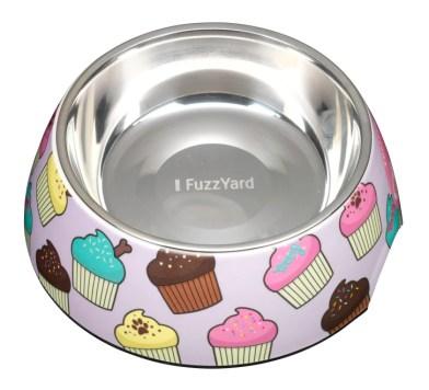 FuzzYard Cupcake Stainless Steel Bowl |Vanillapup