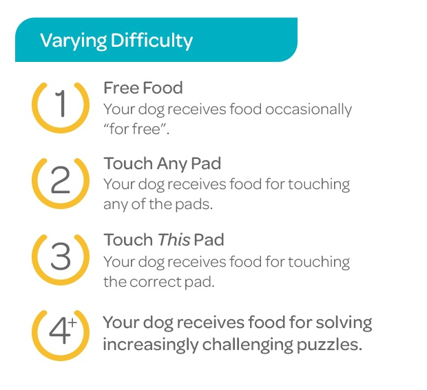 CleverPet Difficulty Levels - Easy