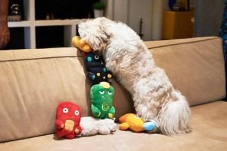 Zee.Dog Stixx Alien Plush Toy
