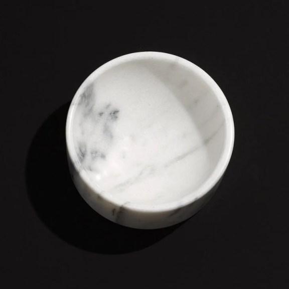 MRD White Marble Bowl