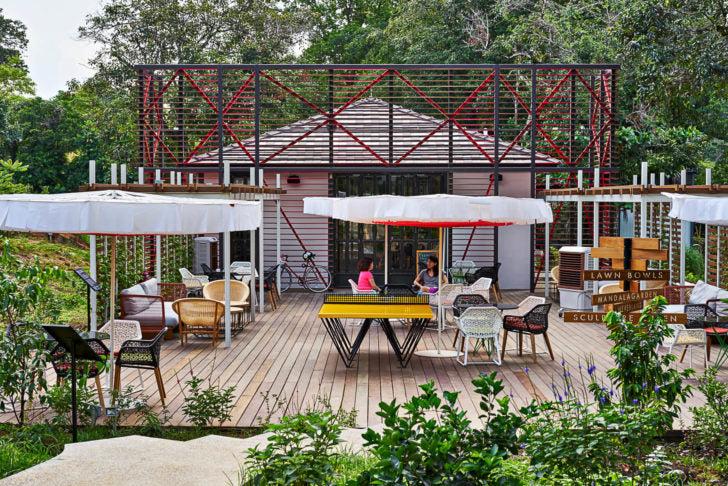Open Farm Community Cafe Terrace | Vanillapup