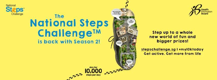 Health Promtion Board National Steps Challenge Season 2